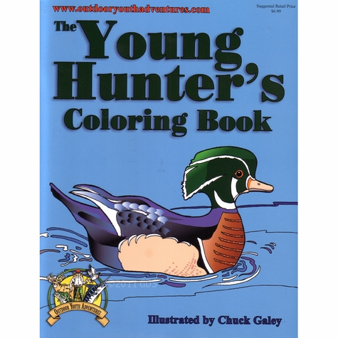 Young Hunter's Coloring Book