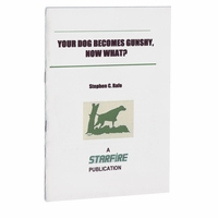 buy discount  Your Dog Becomes Gunshy, Now What? Pamphlet by Stephen C. Rafe