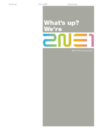 what s up we re ne photo essay book  we re 2ne1 photo essay book