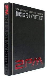 "2PM - 1st Concert Making Story Photobook ""This Is For My Hottest"" (Photobook + 1 Region-All DVD)"