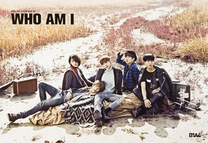 B1A4 - Who Am I [poster]