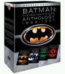[DVD] Batman: Anthology 1989-1997 (Region-3 / 4 Movies in 8 Disc Box Set)