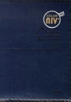 Color NIV Korean-English Explanation Bible and New Hymnal (Small, Dark Blue)