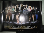 Girls' Generation (SNSD) - 2011 Girls' Generation Tour DVD [poster]