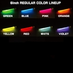 Lumica Light 8pcs Multi-color(glow sticks)