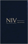 NIV Korean - English Study Bible (New Hymnal)