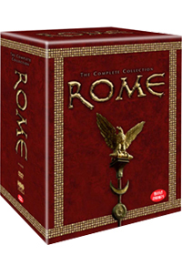 [DVD] Rome - The Complete First Two Seasons (Region-3 / 11 DVD Set)