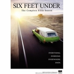 [DVD] Six Feet Under - The Complete Fifth Season (Regino-3 / 5 DVD Set)