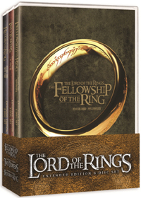 [DVD] The Lord of the Rings Trilogy: Expanded Edition (6 Disc)