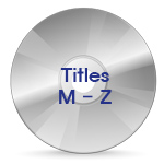 Titles Starting With M ~ Z