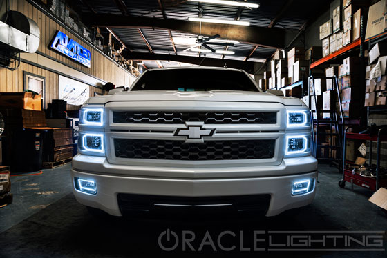 Oracle Halo Lights For Chevy Silverado 2014 2016 Chevy