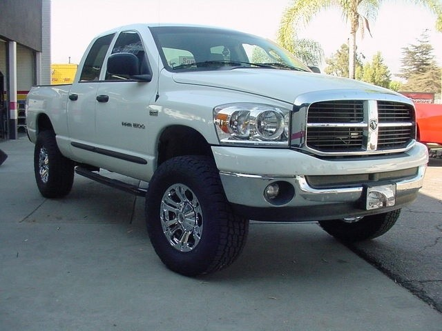 Cst performance suspension lift kits for 2006 2008 dodge ram 2wd 2002 2008 dodge ram 1500 2wd lift kit w fabricated spindles by cst 4 front 1 rear lift publicscrutiny Image collections