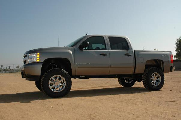 CST Performance Suspension / Lift Kits for 2007-2013 Chevy Silverado / GMC Sierra NON HD Models
