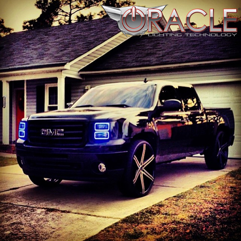 how to change to led gmc sierra