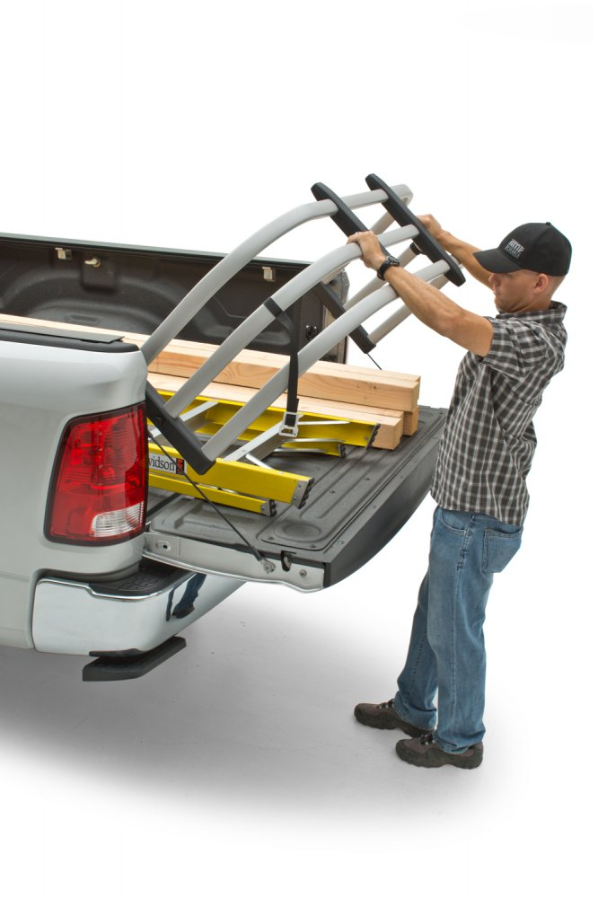 Bed X-Tender Flipping Truck Bed Extender by AMP Research ...