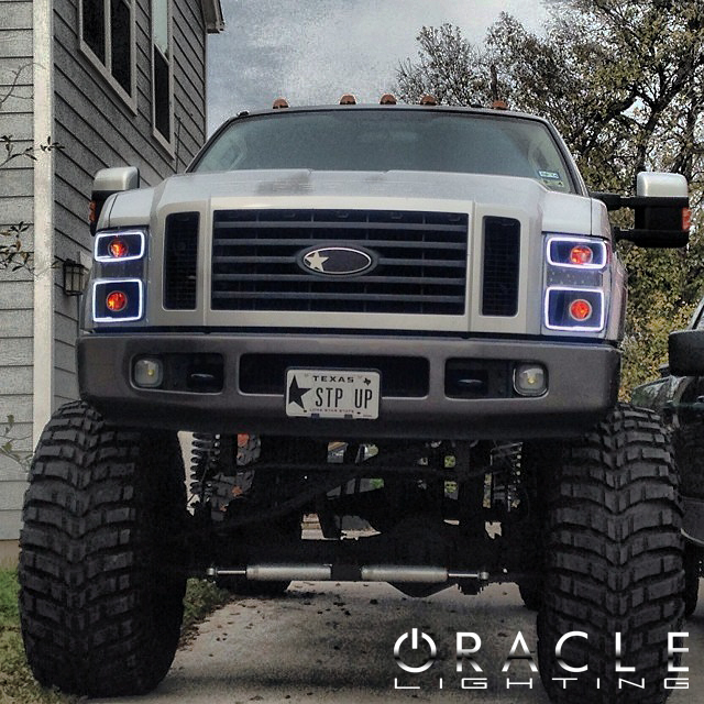 Oracle Halo Head Lights Complete Assemblies For Ford
