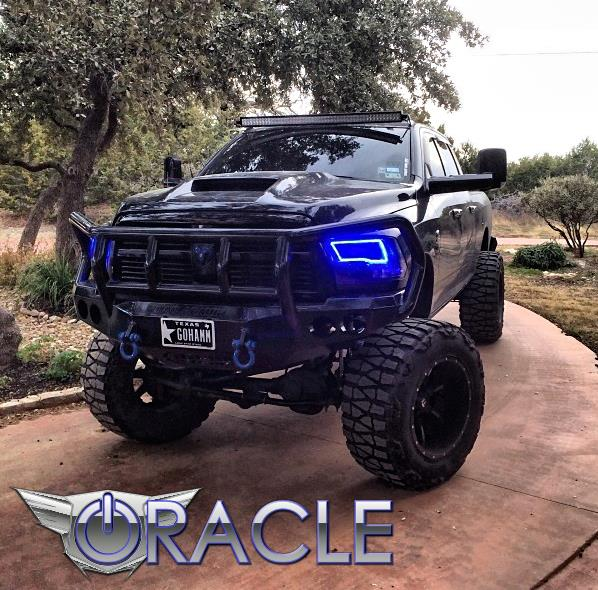 Oracle halo head lights complete assemblies oem style for dodge ram oracle halo head lights complete assemblies oem style for dodge ram 2009 2016 dodge ram quad sport models only oracle halo headlights complete publicscrutiny