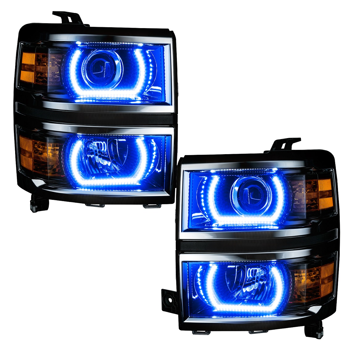 Oracle Color Changing Headlight and Foglight Halo Kits for