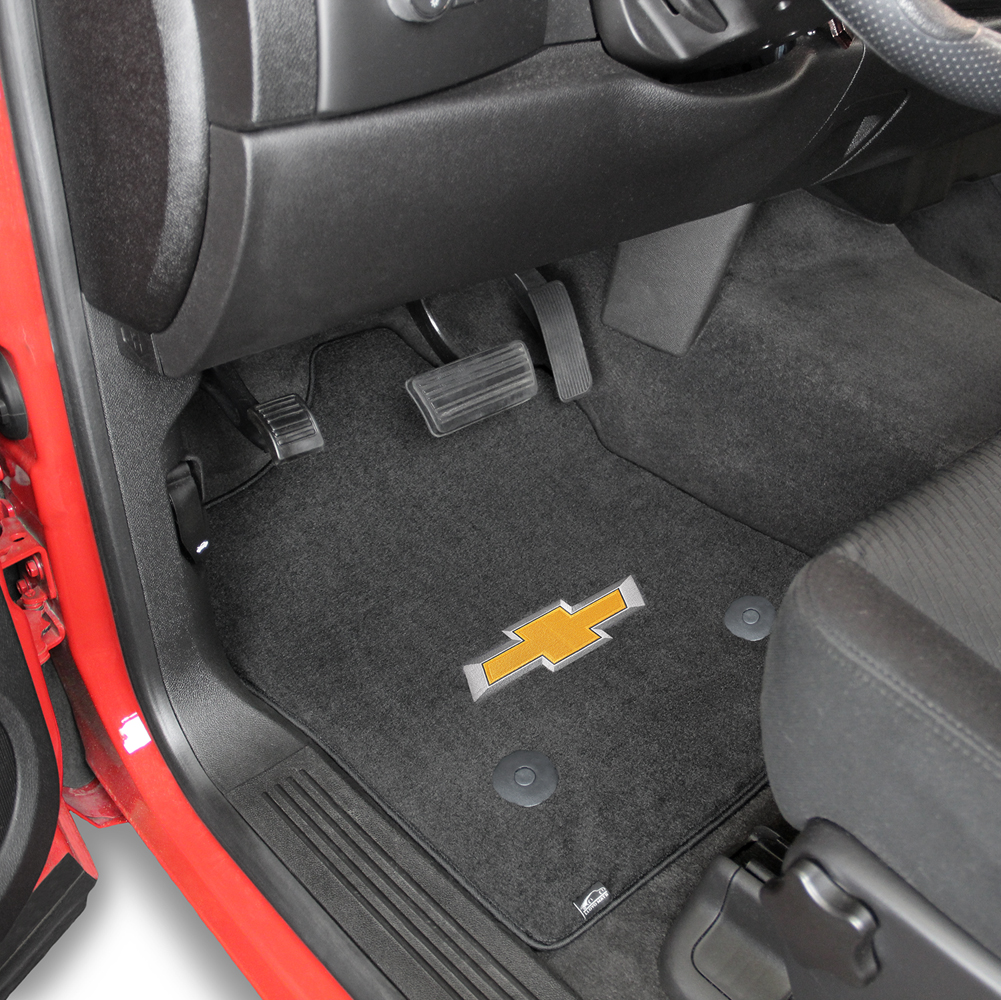 pc rubber silverado mats style black chevy elite floor
