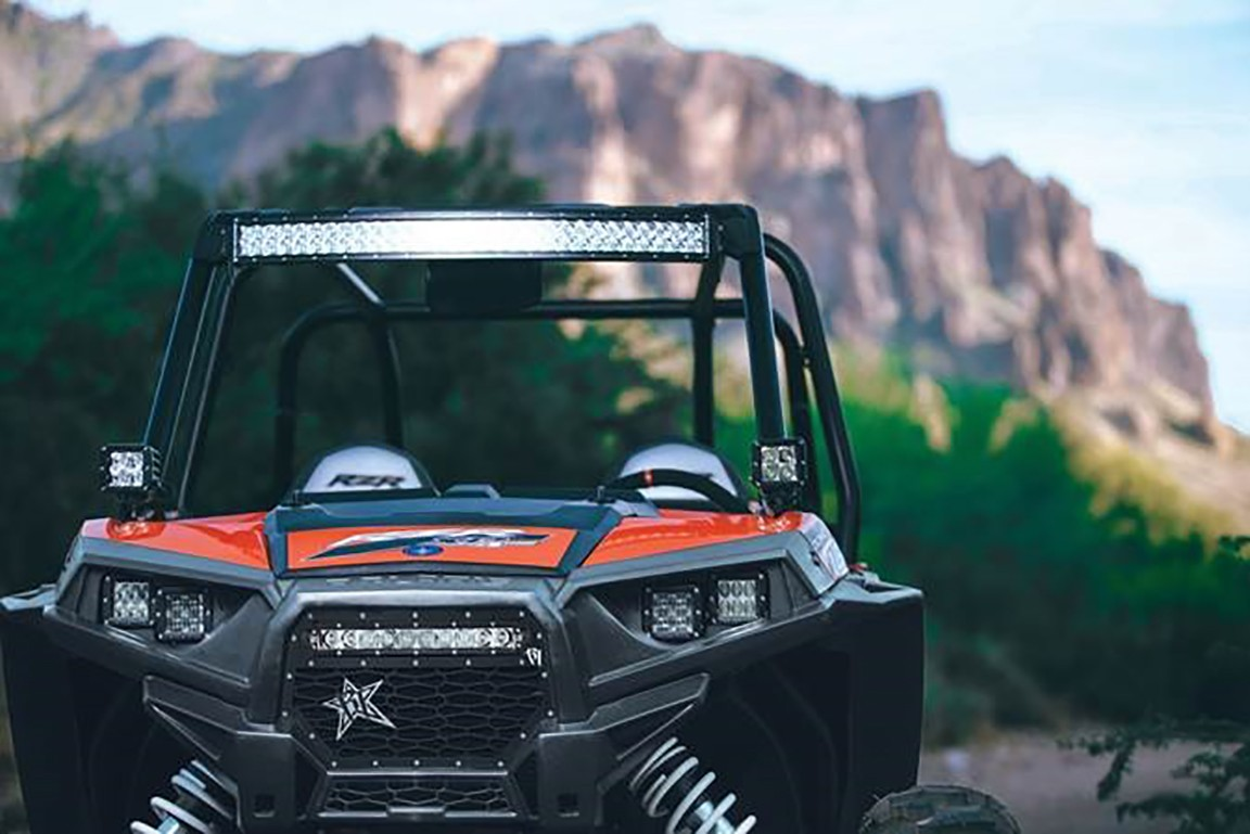 Polaris Led Light Mounts Brackets By Rigid Industries