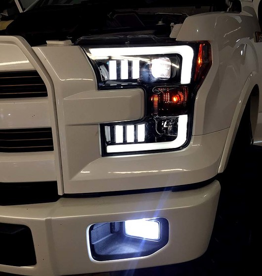 Recon Projector Headlights For Ford F150 2015 2017 Ford