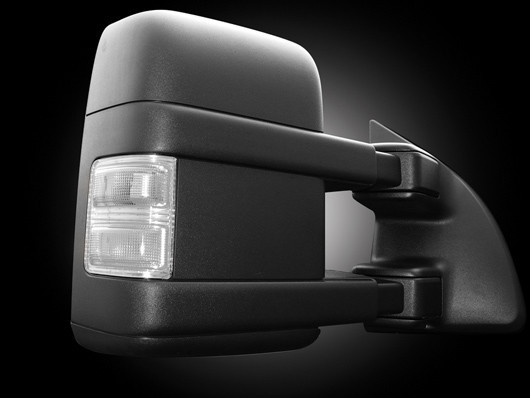 Recon White Led Side View Mirror Lenses   Ford F  F  Superduty