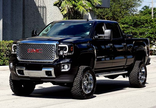 Recon Projector Headlights For Chevy And Gmc Recon Black