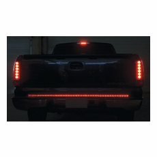 Euro led tail lights ipcw in pro car wear led tailgate 49 led tailgate light bar by ipcw mozeypictures Gallery
