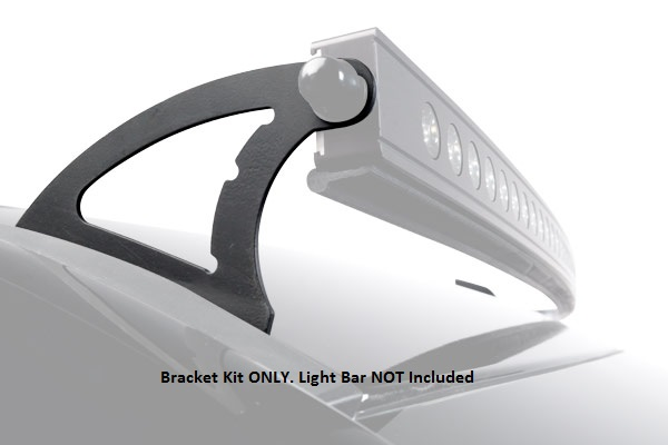 Roof and cradle mounts for luminix led light bars by putco lighting 2009 2015 dodge ram 1500 roof mount bracket kit for putco luminix 50 curved led light bar by putco lighting mozeypictures Image collections