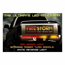 Lighting headlights fog lights tail lights replacement bulbs firestorm led tailgate light bars mozeypictures Image collections
