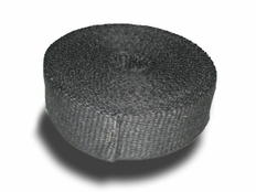 Heat Shield Products Standard Black Header Wrap / Exhaust Wrap 2000 Degree