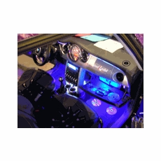 High Intensity Car Interior LED Glow Kit (w/ Remote Control)