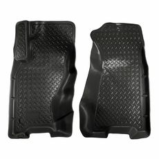 husky liners all weather floor mats / liners for jeep - husky
