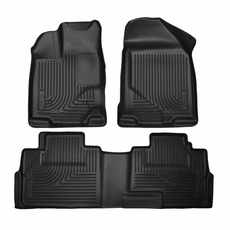Husky Liners All Weather Floor Mats Liners For Ford Edge Husky Weatherbeater All Weather Front Back Seat Floor Liners   Ford Edge Lincoln Mkx