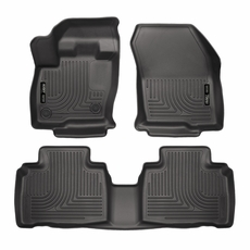 Husky Weatherbeater All Weather Front Back Seat Floor Liners  Ford Edge