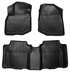 Husky Liners All Weather Floor Mats Liners For Honda Fit