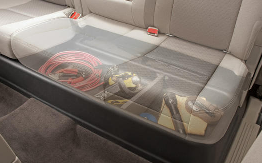 Husky Gearbox Under Back Seat Storage System For Toyota