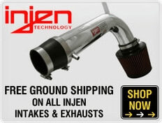 Free Ground Shipping on All Injen Intakes & Exhausts