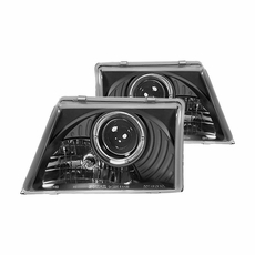 Ipcw headlights for ford ipcw headlights for ford ranger ipcw black projector headlights 1998 2000 ford ranger fandeluxe Choice Image