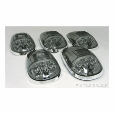 Putco Smoked LED Roof Lights (5 piece set) 2003-2008 Dodge Ram  sc 1 st  New Level Motor Sports & LED Roof Lamps and Cab Light Lenses by Putco Lighting - Putco LED ... memphite.com