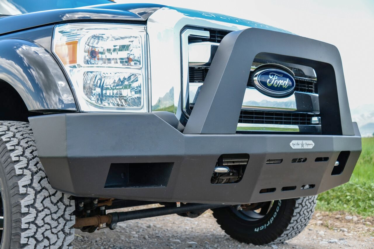 2008 2016 Ford F 250 350 450 Superduty Bull Bar For Front Per By Rock Slide Engineering