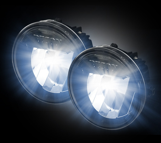 Recon Led Fog Lights And Driving Lights For Ford Recon Smoked Led Fog Lights   Ford F  No Raptor