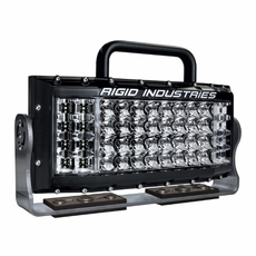Rigid Industries Site Series Low Voltage LED Light DC Hybrid Spot 80/40  Combo Optic