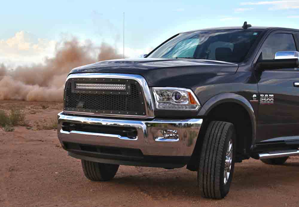 Radius led grilles featuring rigid curved led light bars by rigid radius led grilles featuring rigid curved led light bars by rigid industries for dodge 2013 2016 dodge ram 2500 3500 led grille rigid industries led aloadofball Images