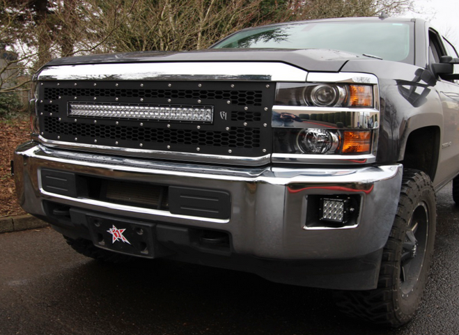2007 2016 Chevy Silverado 2500 3500 Led Light Mounts