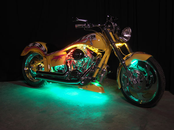 Undercar neon kits streetglow led motorcycle light kit atv light kit - Underglow neon ...