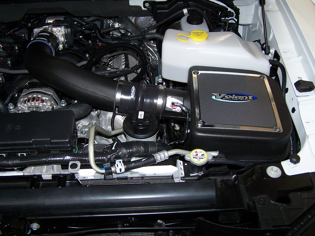 Ford F   V W Out Remote Start Volant Cold Air Intake