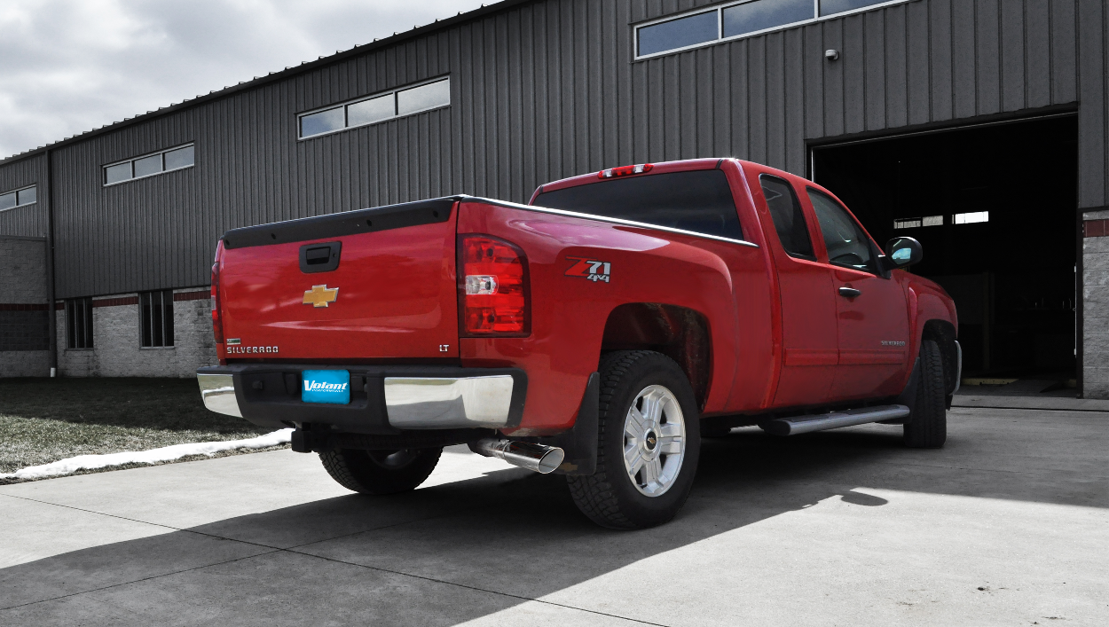 volant performance exhaust systems for chevy and gmc 2011 2013 chevy silverado gmc sierra 6 2. Black Bedroom Furniture Sets. Home Design Ideas