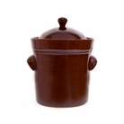 10 Liter Fermenting Crock Pot Rich Brown Boleslawiec Polish
