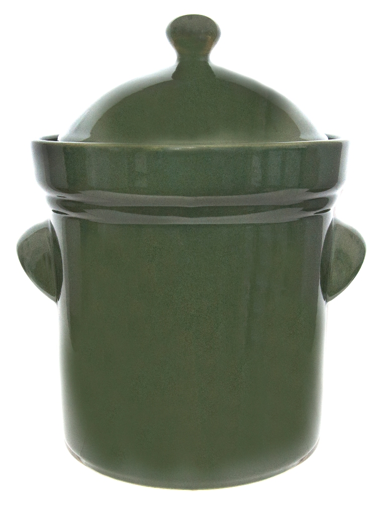 Fermentation Crock Pots5 Liter Boleslawiec Green Click To Enlarge Image